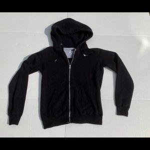 Ladies Nike zip up hooded sweatshirt size small